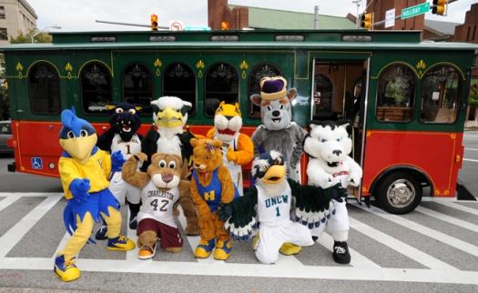 Mascots Trolley